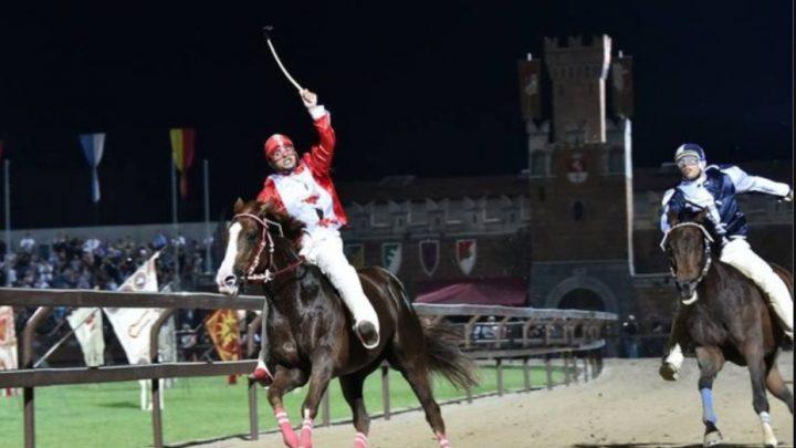Palio di Legnano: la provaccia è stata vinta dall'Olianese Marco Bitti per la contrada di San Magno