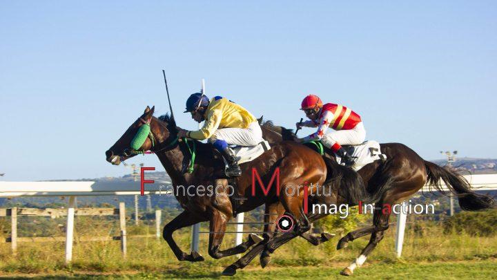 Aitherious alla sua prima vittoria in Sardegna.