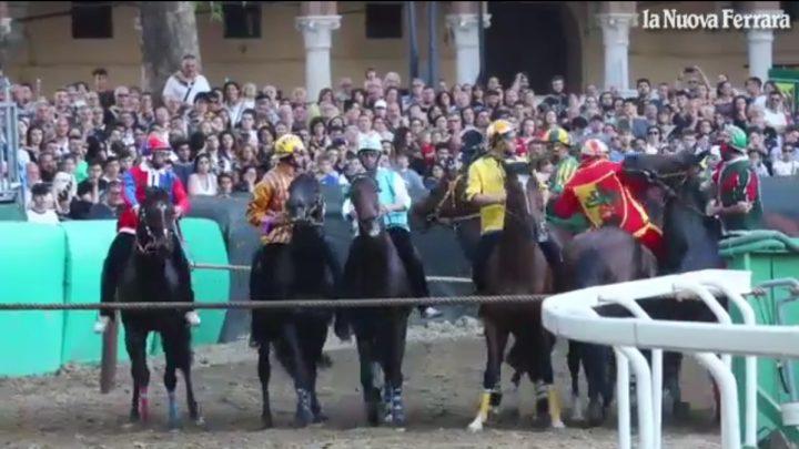 Ferrara: Pusceddu e Calliope regalano dopo 28 anni il Palio a San Luca.