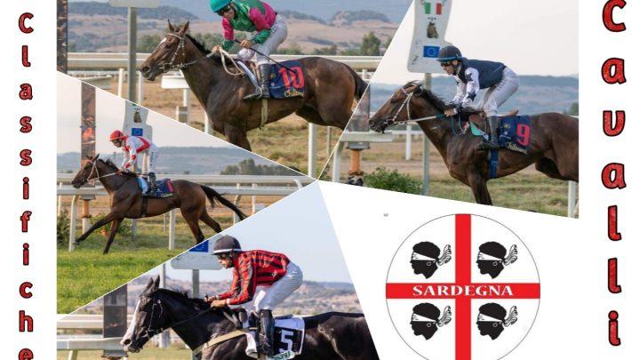 Classifiche cavall: a punti, vittorie e somme vinte, alla 34° Giornata.