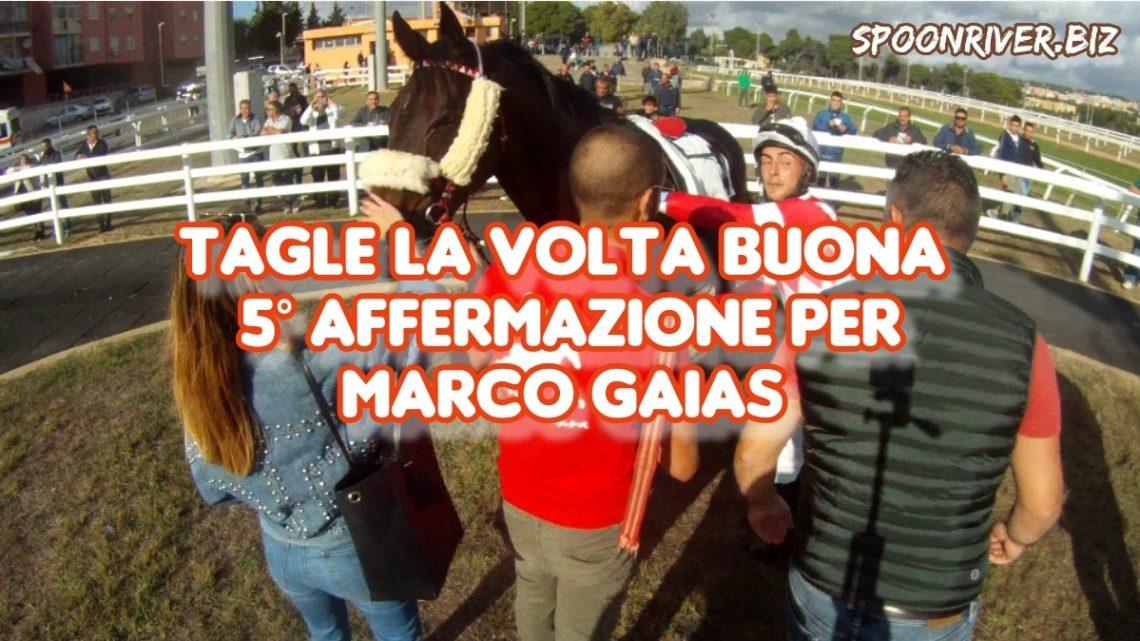 Clip|Tagle la volta buona, Marco Gaias 5° squillo stagionale.
