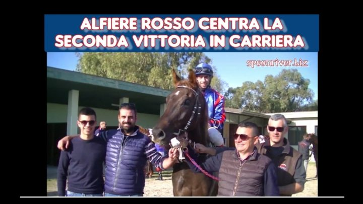 Clip  Alfiere Rosso brinda il 2° successo, highlights e interviste.