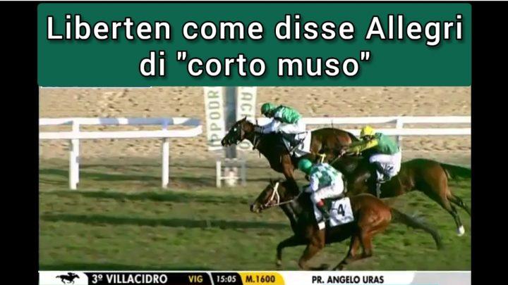 """Clip  Liberten di """"corto muso"""" come disse Allegri, highlights e interviste."""