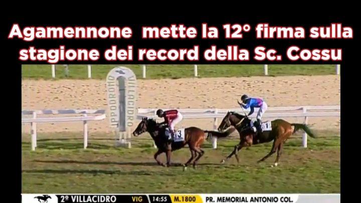 Clip: Agamennone regala la 12° e il  record alla Sc. Cossu, highlights e interviste.