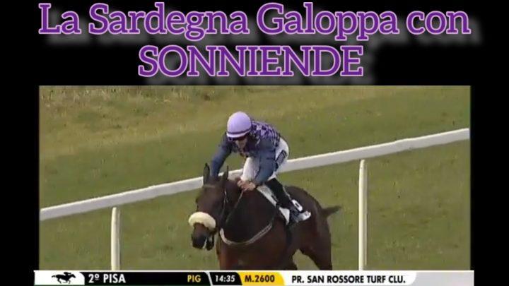Clip| la Sardegna galoppa a San Rossore con Sonniende.