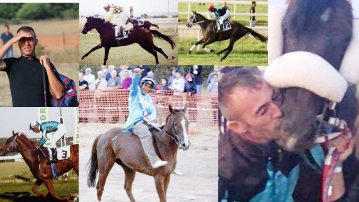 Giuseppe Piccinnu il fantino da Palio diventato trainer.